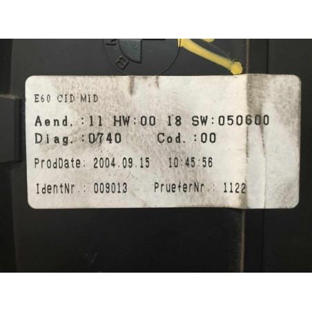 DISPLAY RADIO NAVEGADOR SIEMENS VDO A2C53101256 BMW 65.82-6952327