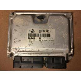 ECU MOTOR BOSCH EDC15VM+ 0281010111 VAG 038906012K