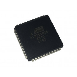MEMORIA FLASH ATMEL AT27C1024-45JU 1Mbit PLCC44
