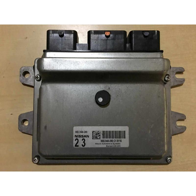 ECU MOTOR HITACHI MEC940-280 NISSAN MEC930-320 C1 0Y15