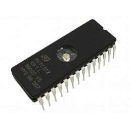 MEMORIA EPROM ST M27C512-10F1 512Kbit FDIP28W