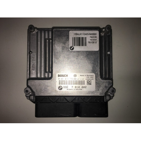 ECU MOTOR BOSCH EDC17CP02-3.12 0281013776 BMW 7810002