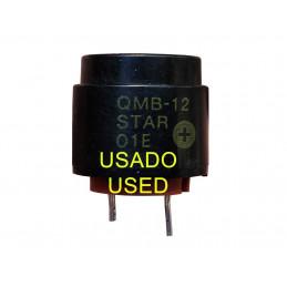ALTAVOZ - BUZZER STAR MICRONICS QMB-12 S/L - USADO