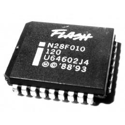 MEMORIA FLASH INTEL N28F010-120 1024K PLCC32
