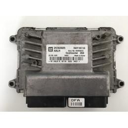 ECU MOTOR CONTINENTAL D52 5WY1K11A CHEVROLET 25182025