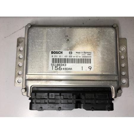 ECU MOTOR BOSCH EDC15C7-2.16 0281011491 ALFA ROMEO 55188343