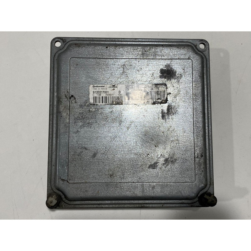 ECU CAJA CAMBIOS SIEMENS SIM82 S120215001D PSA HW 9640922780 SW 9661971580