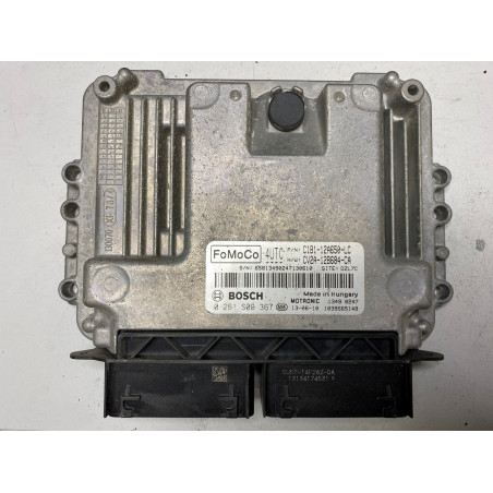 ECU MOTOR BOSCH MED17.0.1 0261S09367 FORD C1B1-12A650-LC CV2A-12A650-CA 4UTC