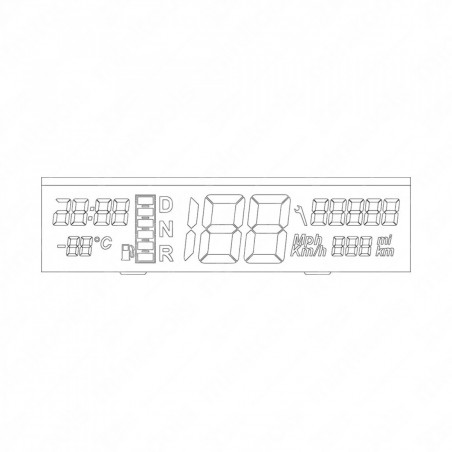 SEPDISP41 DISPLAY MINITOOLS CUADRO MICROCAR MC1 / MC2 / M.Go - NUEVO