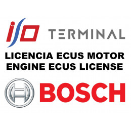 I/O TERMINAL BOSCH SOFTWARE LICENSE