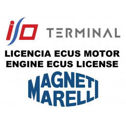 I/O TERMINAL MAGNETI MARELLI SOFTWARE LICENSE 1 + 2