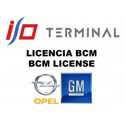 I/O TERMINAL OPEL BCM SOFTWARE LICENSE