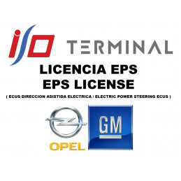 I/O TERMINAL OPEL EPS SOFTWARE LICENSE