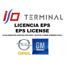 I/O TERMINAL OPEL EPS SOFTWARE LICENSE