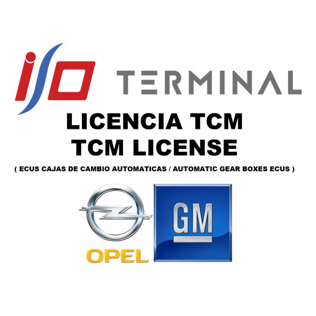 I/O TERMINAL OPEL TCM SOFTWARE LICENSE