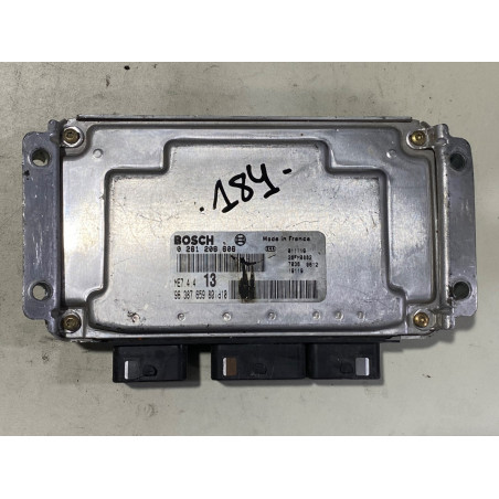 ECU MOTOR BOSCH ME7.4.4 0261206606 PSA 9638765980