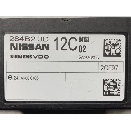 BCM SIEMENS VDO 5WK49375 NISSAN 284B2JD12C