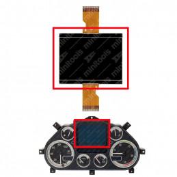 DIS4657 DISPLAY CUADRO DAF CF / LF / XF - TEMSA MD7 PLUS / MD9 119 x 96 mm FLATS 30 + 30 PINS - NUEVO