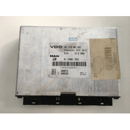 ECU FFR VDO 461470001032 MAN 81.25805.7032