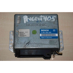 ECU MOTOR BOSCH MP3.1 0261200205 PSA 9624519580