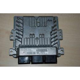 ECU MOTOR CONTINENTAL SID 807 S180075002K PSA 9666571380