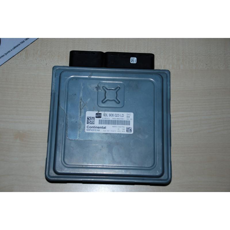 ECU MOTOR CONTINENTAL SIMOS PCR2.1 5WP42918AA VAG 03L906023LD