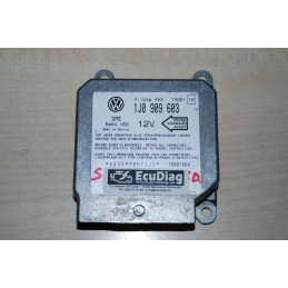 ECU AIRBAG SIEMENS 5WK4163 VAG 1J0909603 INDEX 10