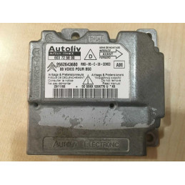 ECU AIRBAG AUTOLIV 603725800 PSA 9662643680 AM