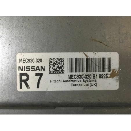 ECU MOTOR HITACHI MEC930-320 NISSAN MEC930-320 B1 8925