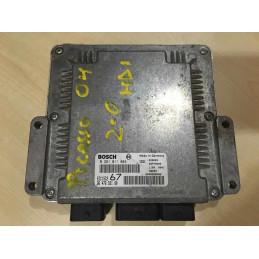 ECU MOTOR BOSCH EDC15C2-11.1 0281011084 PSA 9647693180