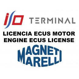 I/O TERMINAL MAGNETI MARELLI 1+2 SOFTWARE LICENSE