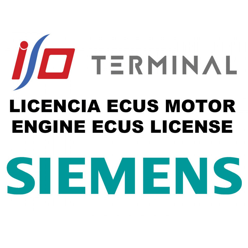 I/O TERMINAL SIEMENS SOFTWARE LICENSE (BASIC V2)