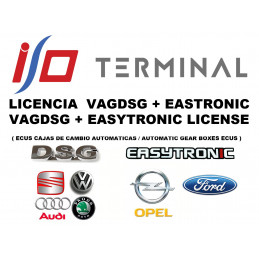 I/O TERMINAL VAG DSG + EASYTRONIC SOFTWARE LICENSE