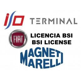 I/O TERMINAL FIAT BSI 1 SOFTWARE LICENSE (MARELLI BSI)