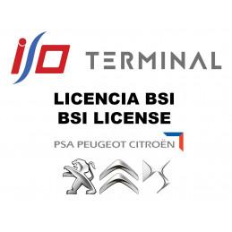 LICENCIA SOFTWARE BSI PSA I/O TERMINAL