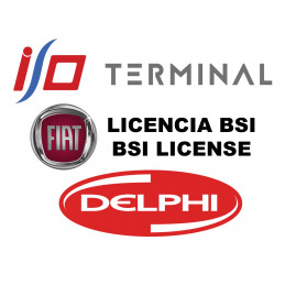 I/O TERMINAL FIAT BSI 2 SOFTWARE LICENSE (DELPHI BSI)