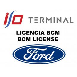 I/O TERMINAL FORD BCM SOFTWARE LICENSE